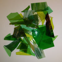 Grab Bag--Green Stained Glass--Translucent