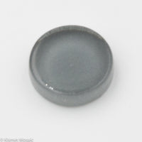 k404 - Gray, Krystal 15mm Round tile - Kismet Mosaic - mosaic supplies