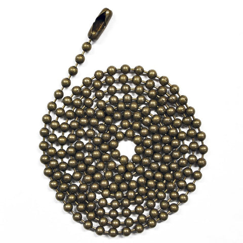 Medieval Brass Ball Chain