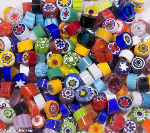 M16 - Millefiori Mix (7-8mm)