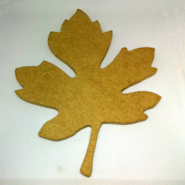 "Oak Leaf - 8"", MDFShape tile - Kismet Mosaic - mosaic supplies"