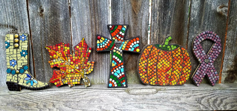 Fall Mosaic Tile Workshop with Cathy Tomovich