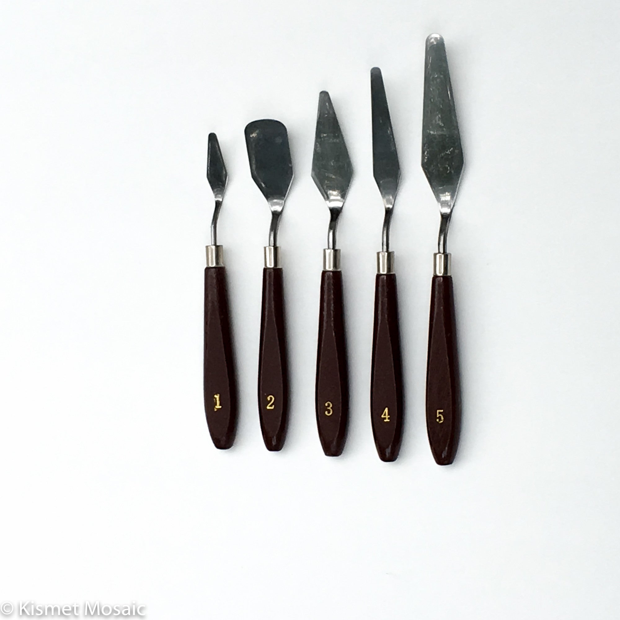 5-pc Palette Knife Set