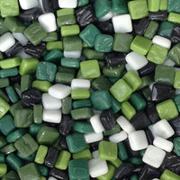 8mm - Gloss, StPatrickMix tile - Kismet Mosaic - mosaic supplies