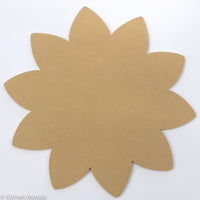 "Sunflower - 12"", MDFShape tile - Kismet Mosaic - mosaic supplies"