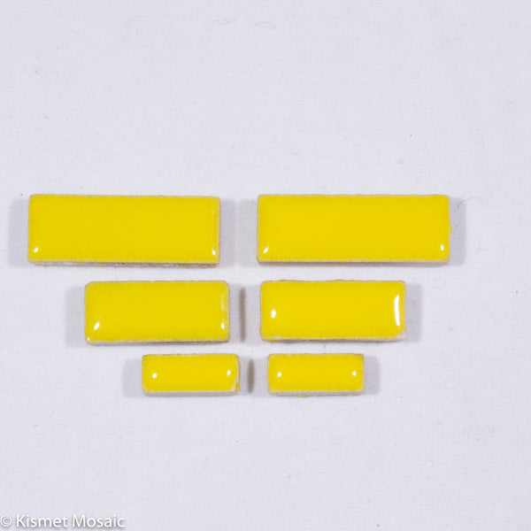 c-Sunshine Rectangles, CeramicRectangles tile - Kismet Mosaic - mosaic supplies