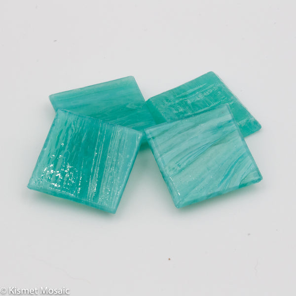 VVG8 - Turquoise - Variegated Vitreous Glass