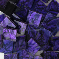 "Purple VanGogh - 2"", VanGogh tile - Kismet Mosaic - mosaic supplies"
