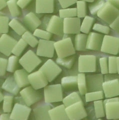 03-m Apple Green, 8mm - Greens & Teals tile - Kismet Mosaic - mosaic supplies