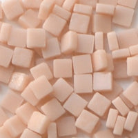 102-m Light Peach, 8mm - Oranges, Reds & Pinks tile - Kismet Mosaic - mosaic supplies