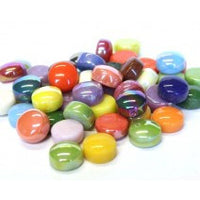 bbMix15 Assorted, BelliButton Assorted tile - Kismet Mosaic - mosaic supplies