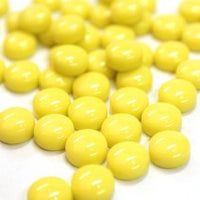 328-g Yellow, BelliButtonGloss tile - Kismet Mosaic - mosaic supplies
