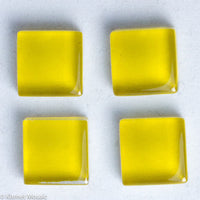 k114 - Yellow Gold, Krystal 10mm tile - Kismet Mosaic - mosaic supplies