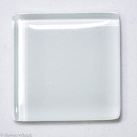k201 - White, Krystal 20mm tile - Kismet Mosaic - mosaic supplies