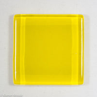 k213 - Yellow, Krystal 20mm tile - Kismet Mosaic - mosaic supplies