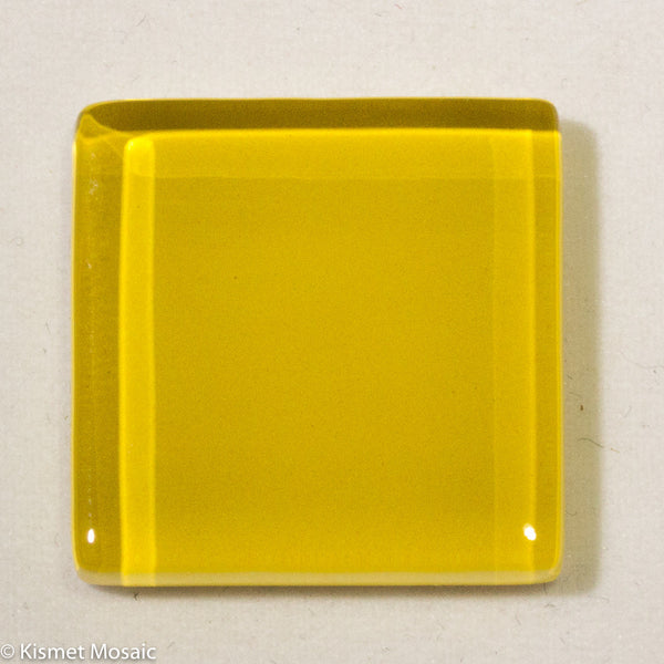 k214 - Yellow Gold, Krystal 20mm tile - Kismet Mosaic - mosaic supplies