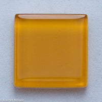 k215 - Sunrise Orange, Krystal 20mm tile - Kismet Mosaic - mosaic supplies