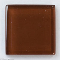 k223 - Pecan, Krystal 20mm tile - Kismet Mosaic - mosaic supplies