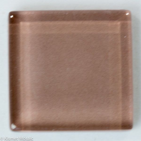 k226 - Taupe, Krystal 20mm tile - Kismet Mosaic - mosaic supplies