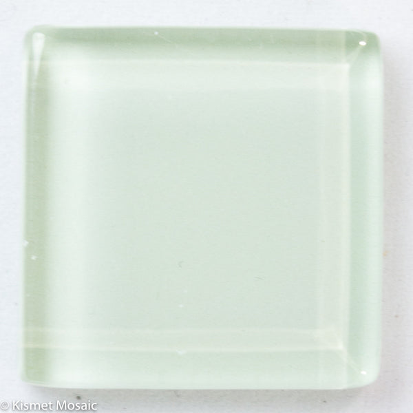 k228 - Honeydew, Krystal 20mm tile - Kismet Mosaic - mosaic supplies