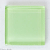 k235 - Pastel Green, Krystal 20mm tile - Kismet Mosaic - mosaic supplies