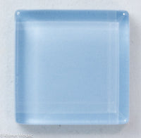 k255 - Pastel Blue, Krystal 20mm tile - Kismet Mosaic - mosaic supplies