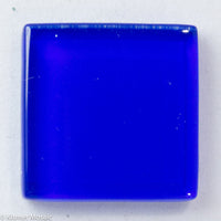 k260 - Cobalt, Krystal 20mm tile - Kismet Mosaic - mosaic supplies
