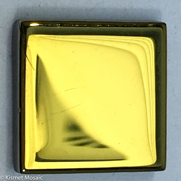 k626 - Gold Smooth Chrome, KrystalChrome tile - Kismet Mosaic - mosaic supplies