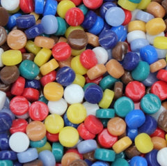 400-g Mixed Gloss Mini Rounds, MiniRound-Assorted tile - Kismet Mosaic - mosaic supplies