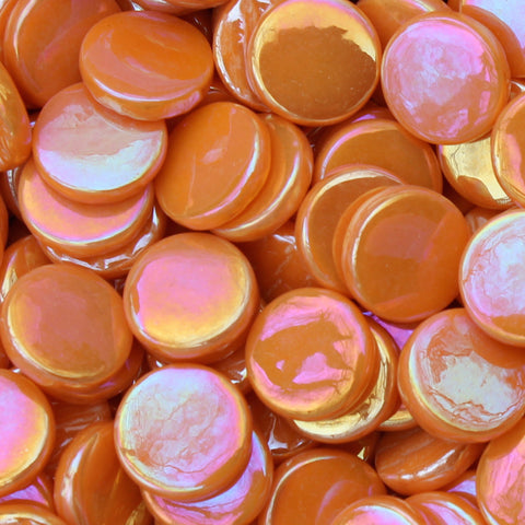 2104-i - Tangerine - Penny Rounds