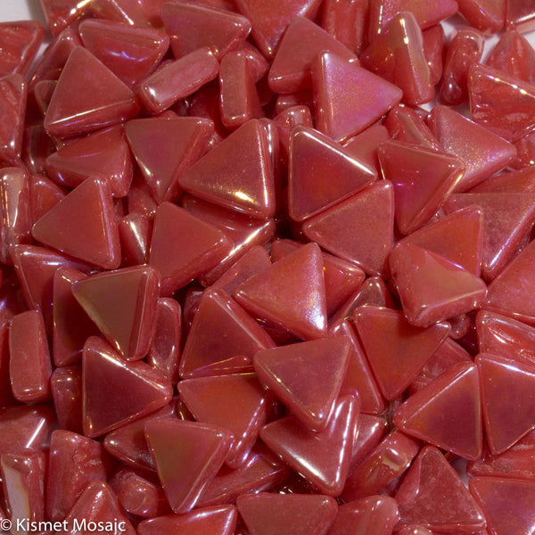 7106-i - Watermelon Triangles, TriangleIrid tile - Kismet Mosaic - mosaic supplies