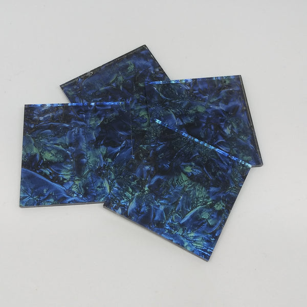 Blue/Bluegreen VanGogh- 2""