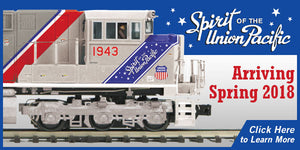 The Muffin's Special Deal on the Spirit of the Union Pacific models announced by MTH