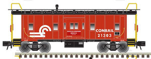 "[Cancelled] 2001737 - Trainman - Bay Window Caboose ""Conrail"""