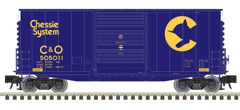 [Cancelled] 40' Hy-Cube Box Car Run & NE-6 Caboose Run