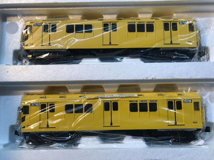 "MTH 30-20627-3 - R-12 Subway Add-On Set ""Metropolitan Transportation Authority"" Non Powered (2-Car)"