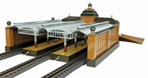 MTH 10-1029 - Tinplate No. 2036 GB Leipzig Station Platform Hall