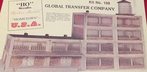 Korber Models #108 - HO Scale - Global Transfer Company Kit