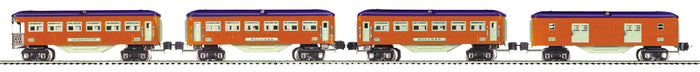 "MTH 11-80067 - Tinplate - 2600 Series Set ""Lionel Lines"" (4-Car)"
