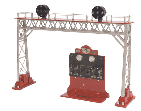 MTH 11-90087 Silver & Red #440 Signal Bridge & Control Panel