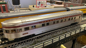 "MTH 20-64121 - 70' Streamlined Slpr/Diner Passenger Set ""Pennsylvania"" (2-Car) Ribbed Sided"