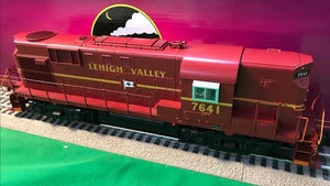 "MTH 20-21070-1 - RS-11 High Hood Diesel Engine ""Lehigh Valley"" #7641 w/ PS3"