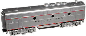 "Atlas O 1641-1 - EMD F-3 Locomotive (B Unit) ""Burlington"" #9960B - Phase 2"