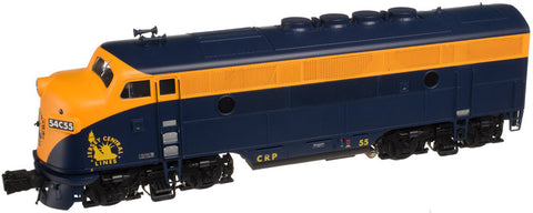 "Atlas O 1645-1 - EMD F-3 Locomotive (A Unit) ""Jersey Central"" #54 - Phase 2"