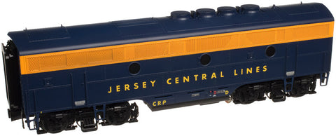 "Atlas O 1646-2 - EMD F-3 Locomotive (B Unit) ""Jersey Central"" #4D - Phase 2"