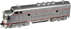 "Atlas O 1640-1 - EMD F-3 Locomotive (A Unit) ""Burlington"" #9960A - Phase 2"
