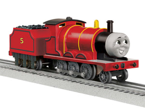 Lionel 1823021 - Thomas & Friends - James Engine w/ LionChief Remote & Bluetooth