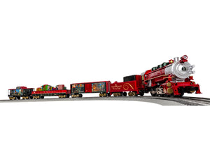 "Lionel 1823040 - LionChief RTR Thomas Kinkade ""Christmas"" Freight Set w/ Bluetooth"