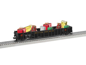 "Lionel 1926370 - 52' Gondola ""The Polar Express"" w/ Presents"