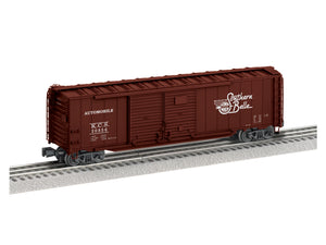 "Lionel 1926452 - 50' Double Door Boxcars ""Kansas City Southern"" #20856"